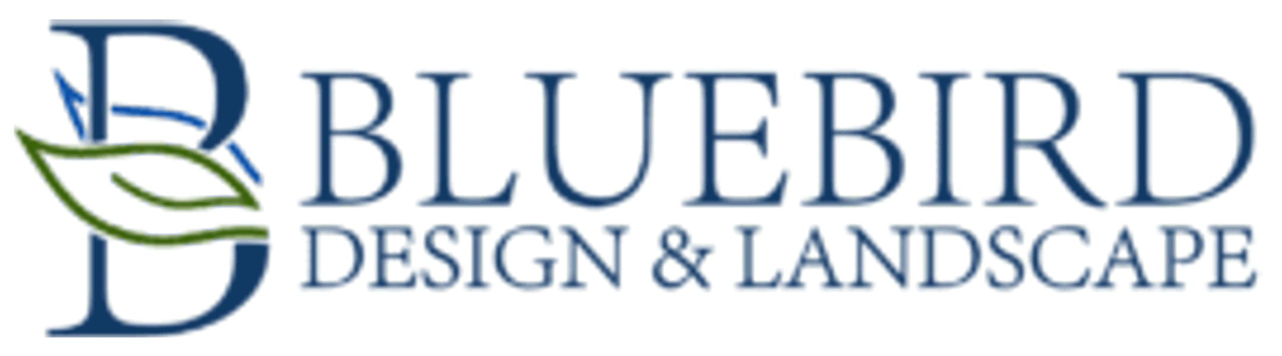 Bluebird Design & Landscape Logo
